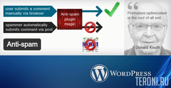 Плагин для WordPress - Anti-spam