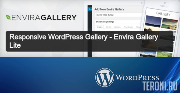 Плагин для WordPress - Envira Gallery